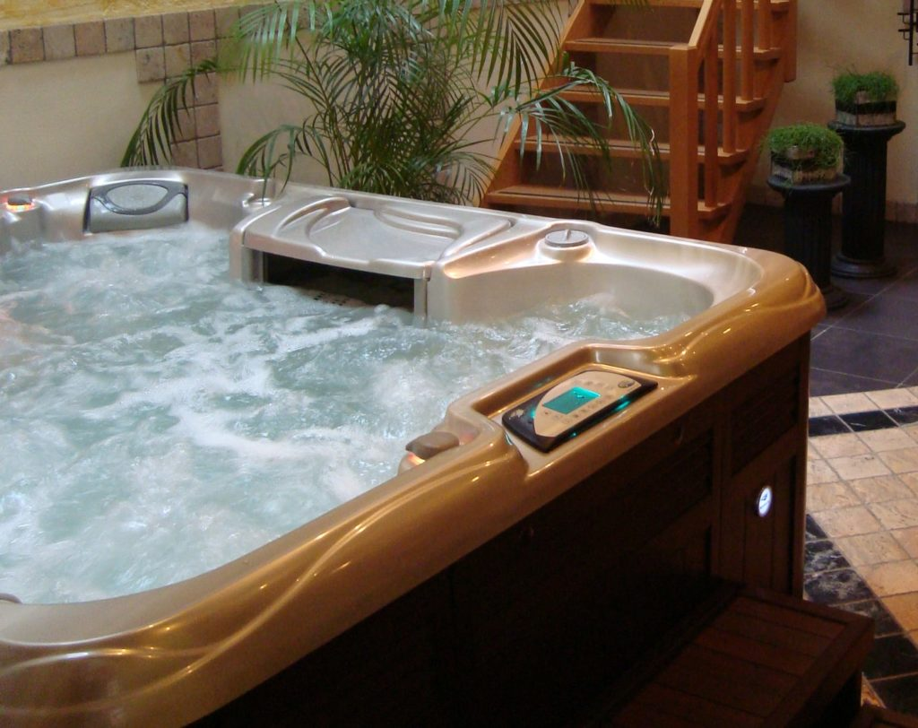 Sundance Spas install in Papillion, NE
