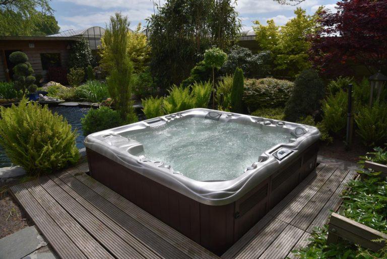 Sundance Spas hot tub install in Papillion